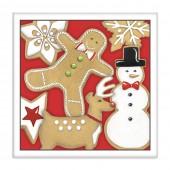 Santas Cookies Paper Napkins
