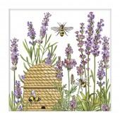Botanical Lavender Paper Napkin