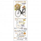 Pumpkin Bike Pumpkin Pie Recipe Towel