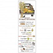 Fall Black Truck Stuffing Recipe Towel
