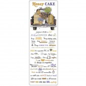 Black Truck Beehive Honey Cake Recipe To