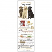 Three Labs Peanut Butter Treats Recipe Towel
