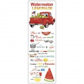 Watermelon Truck Recipe Towel