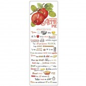 Crate Apple (Label) Pie Recipe Towel