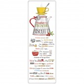 Stacked Coffee Biscotti Recipe Towel