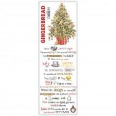 Gingerbread Tree Gingerbread Cookies Recipe Towel