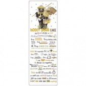 Beekeeper Bear Honey Cake Recipe Towel
