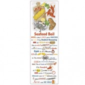 Seafood Crab Boil Recipe Towel