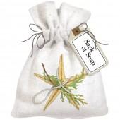 Starfish Ornament Sack Of Soap