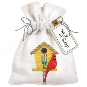 Bird Houses Soap Bag
