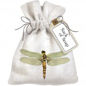 Dragonfly Sack Of Soap