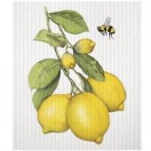 Lemon Branch Sponge Cloth