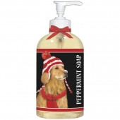 Golden Retriever With Hat Liquid Soap