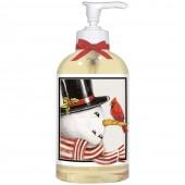 Retro Snowman Liquid Soap
