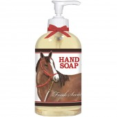 Horse With Red Bridle Liquid Soap