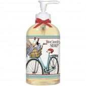 Bike With Lavender Liquid Soap
