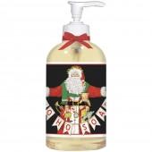 Santa With Garland Liquid Soap