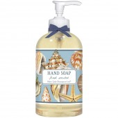 Seashell Collage Liquid Soap