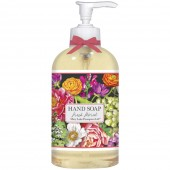 Country Flowers Liquid Soap
