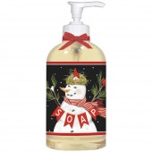 Cardinal Snowman Liquid Soap