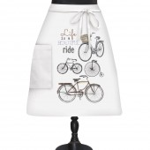 Bike Collage Bistro Apron