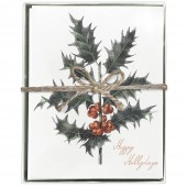 Holly Boxed Greeting Cards