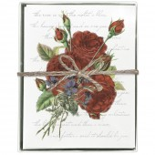 Red Roses Boxed Greeting Card Set