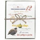 Twelve Days Boxed Greeting Cards