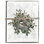 Chickadee Nest Boxed Greeting Card