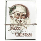 Jolly Santa Boxed Greeting Cards