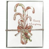 Candy Cane Bunch Boxed Greeting Card