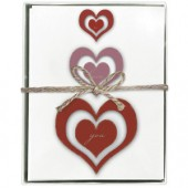 Heart Trio Boxed Greeting Cards