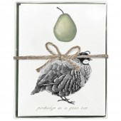 Partridge Boxed Greeting Cards