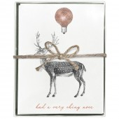 Reindeer Boxed Greeting Cards