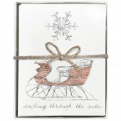 Sleigh Boxed Greeting Cards