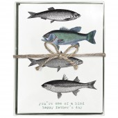 Fish Boxed Greeting Cards (Blank)