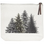 Evergreens Canvas Pouch