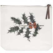 Holly Canvas Pouch