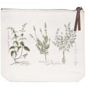Herbs Canvas Pouch