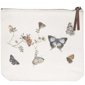 Butterflies Canvas Pouch