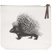 Woodland Creatures Canvas Pouch