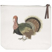 Turkey Corn Canvas Pouch