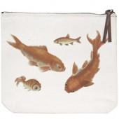 Goldfish Canvas Pouch