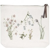 Wildflowers Canvas Pouch