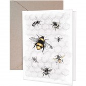 Bee Colony Greeting Card
