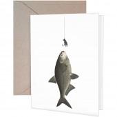 Fish Lure Greeting Card