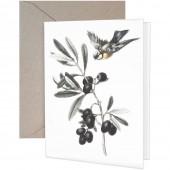 Black Olives Greeting Cards