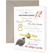 Twelve Days Greeting Card