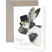 Bunny Hat Greeting Card