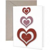 Heart Trio Greeting Card